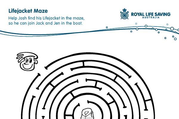 Lifejacket Maze