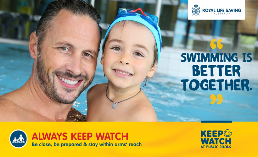 Keep Watch at Public Pools