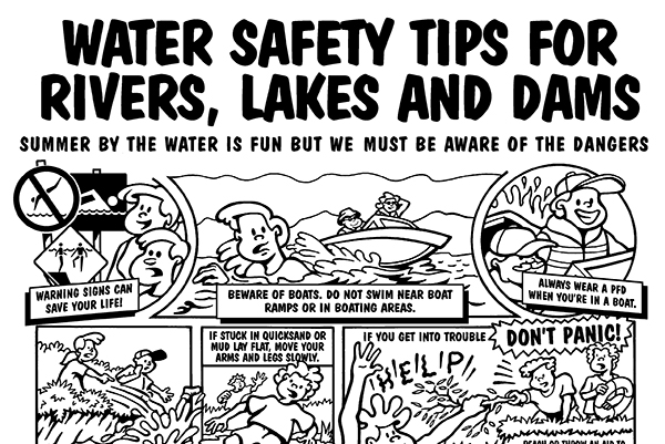 Water Safety for Rivers, Lakes and Dams