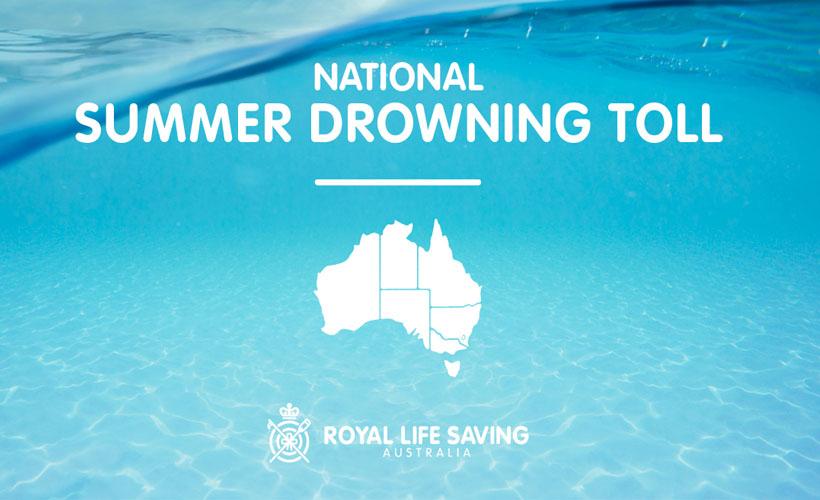 Royal Life Saving Summer Drowning Toll